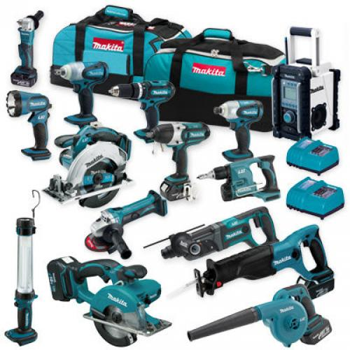 Makita 18V LXT set